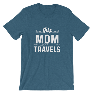This Mom Travels T-Shirt - Travel Suppliers Plus