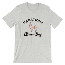 Load image into Gallery viewer, Vacation Alpaca Bag T-Shirt - Travel Suppliers Plus