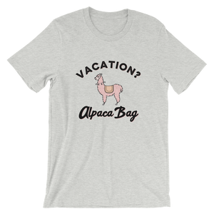 Vacation Alpaca Bag T-Shirt - Travel Suppliers Plus