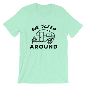 We Sleep Around T-Shirt - Travel Suppliers Plus