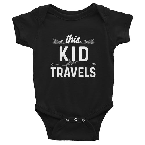 This Kid Travels Infant Onesie - Travel Suppliers Plus