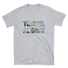 Load image into Gallery viewer, Brooklyn Bridge / NYC / Travel Addict T-Shirt - Travel Suppliers Plus