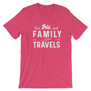 This Family Travels T-Shirt - Travel Suppliers Plus