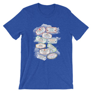 Everywhere Is On My List T-Shirt - Travel Suppliers Plus