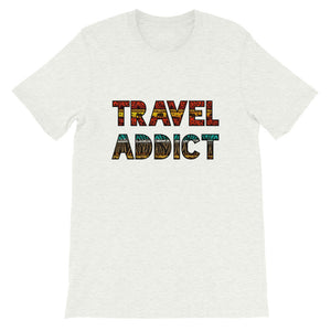 Travel Addict African Print T-Shirt - Travel Suppliers Plus