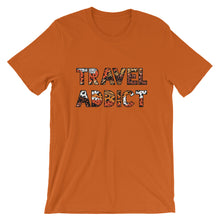 Load image into Gallery viewer, Travel Addict Animal Print T-Shirt - Travel Suppliers Plus