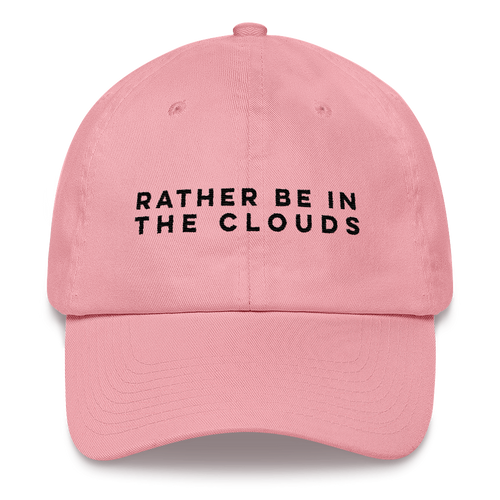 Rather Be In The Clouds Dad Hat - Travel Suppliers Plus