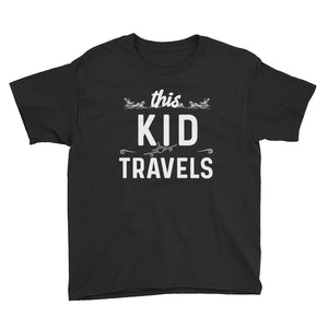 This Kid Travels Youth T-Shirt - Travel Suppliers Plus