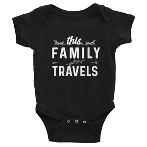 This Family Travels Infant Onesie - Travel Suppliers Plus