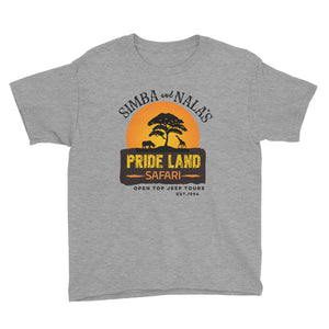 Simba & Nala's Pride Land Safari Youth T-Shirt - Travel Suppliers Plus