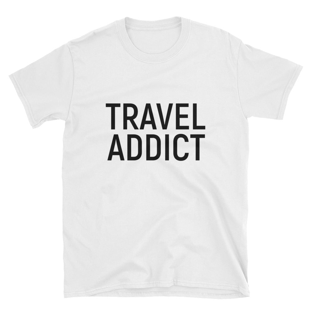 Travel Addict T-Shirt - Travel Suppliers Plus