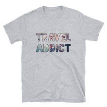 Load image into Gallery viewer, Golden Gate Bridge / SFO / Travel Addict T-Shirt - Travel Suppliers Plus