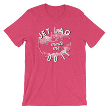 Load image into Gallery viewer, July T-Shirt of the Month - Jet Lag Made Me Do It - Travel Suppliers Plus