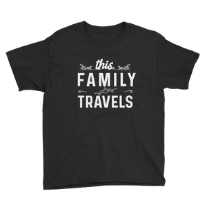 This Family Travels Youth T-Shirt - Travel Suppliers Plus