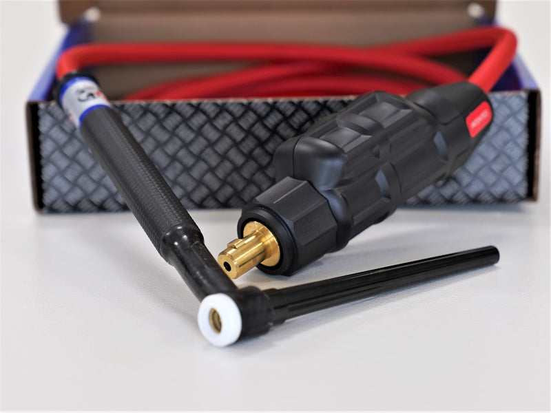 9 Series CK Worldwide Flex Head TIG Torch for Vulcan, Lincoln Squarewave and Miller Syncrowave