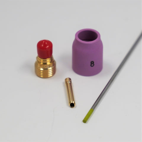9/20 TIG Torch Consumable Kit for Steel