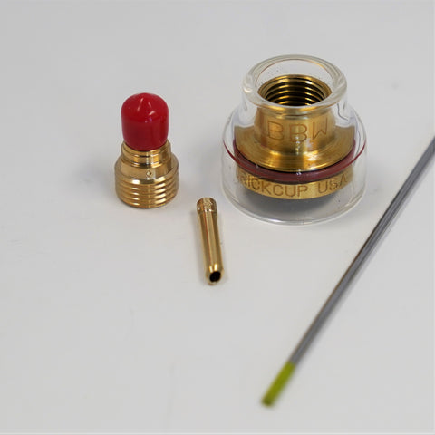 9/20 TIG Torch Consumable Kit for Stainless Steel