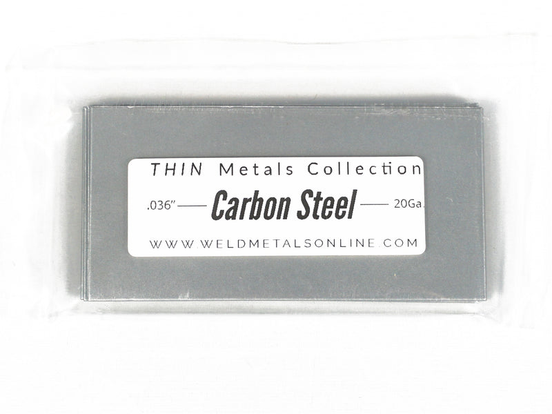 "Thin Metals TIG Welding Starter Kit – (20) .036"" Cold Rolled Steel Coupons, (20) .038"" 304 Stainless Steel Coupons, (20) .032"" 5052 Aluminum Coupons - 1 Universal Tungsten - Carbon Steel, Stainless Steel, Aluminum Filler - Everything You Need"