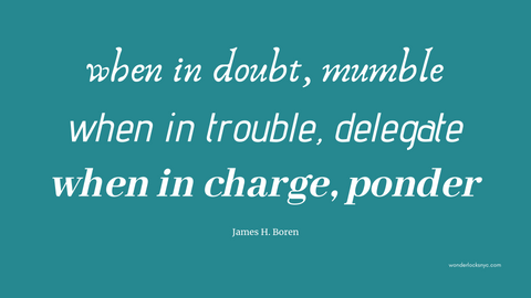 """When in Doubt, Ponder"" Desktop Wallpaper  inspirational quote desktop wallpaper pink women girls productivity office home art design nice love peace grace hopper paint streak script typography digital product free download online sale get modern style"
