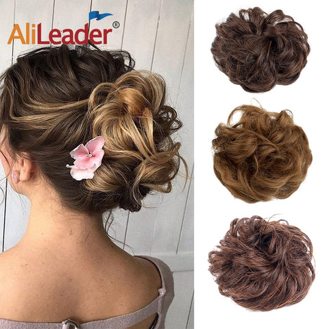 Alileader Messy Hair Bun Extensions