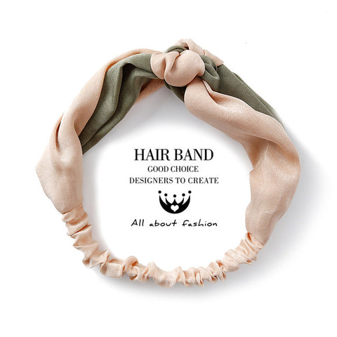 Solid Color Knot Headband