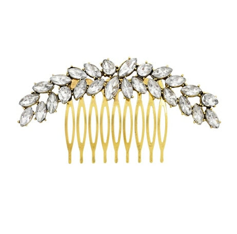 Studded Olive Branch Headdress