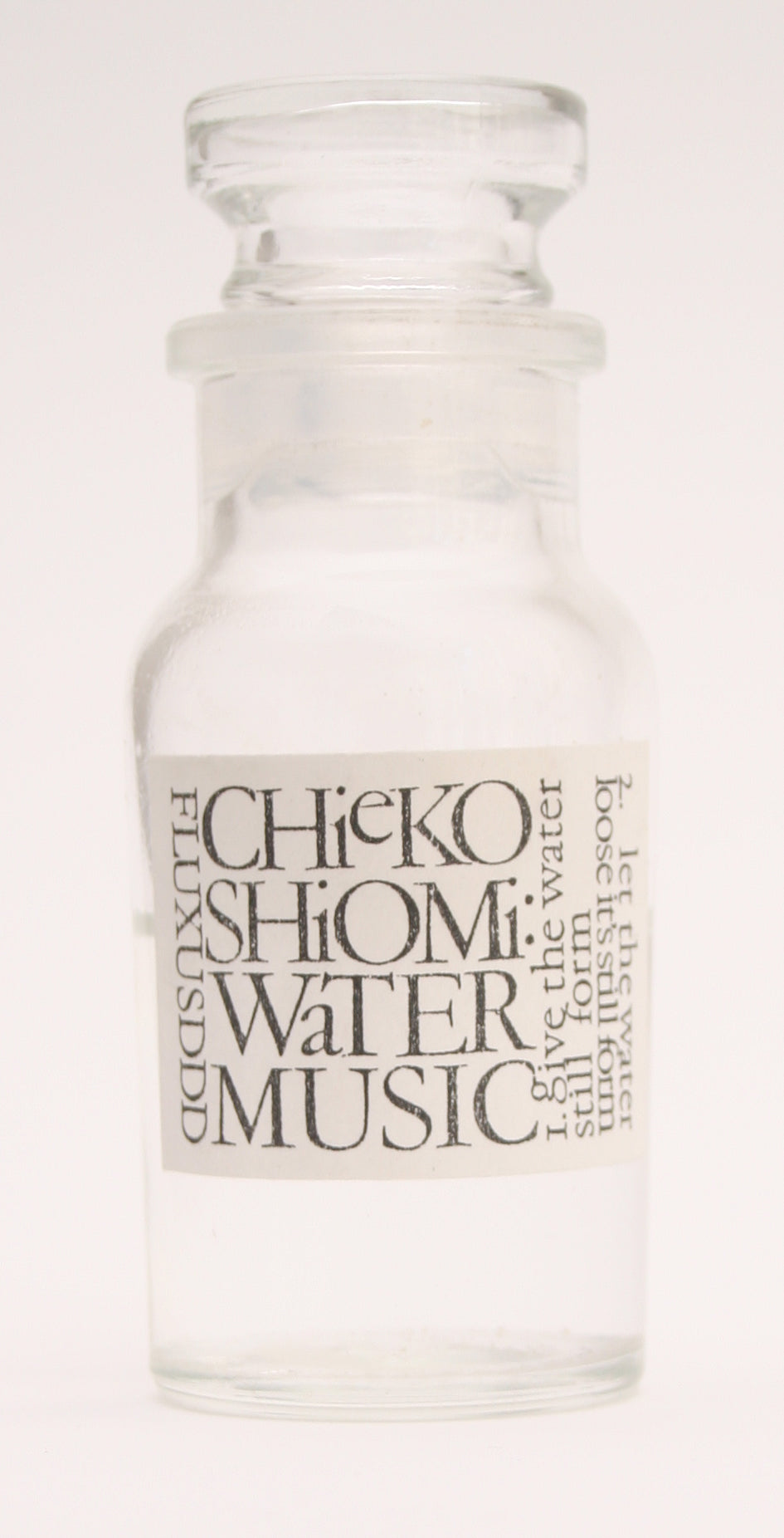 Water Music by Mieko Shiomi