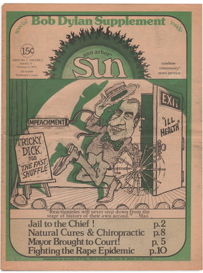 Ann Arbor Sun, Vol. 2, Issue No. 2, Jan. 25–Feb. 8, 1974