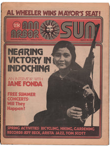 Ann Arbor Sun, Vol. 3, Issue No. 8, Apr. 11–25, 1975—Nearing Victory in Indochina
