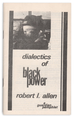 Dialectics of Black Power