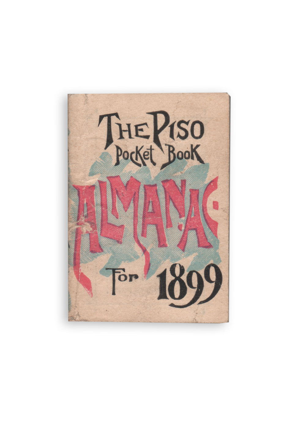 Piso Pocket Book Almanac for 1899