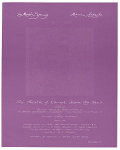 La Monte Young/Marian Zazeela: The Theatre of Eternal Music Big Band