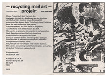 Load image into Gallery viewer, [1980s DDR (East German) Mail Art]—B.E.R.M. and Mechow—Two Pieces