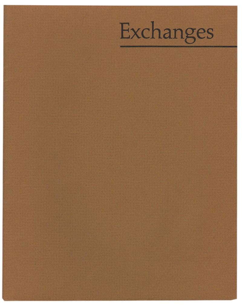 James Dickey EXCHANGES, Signed