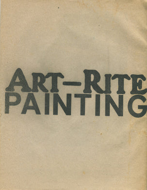 ART-RITE. Issue #9, Spring 1975
