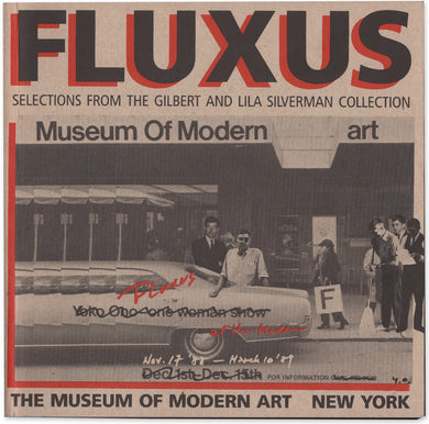 Fluxus: Selections from the Lila and Gilbert Silverman Collection