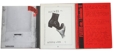 Fluxus Etc. 3 Vol. Set w/Letter—Silverman Collection