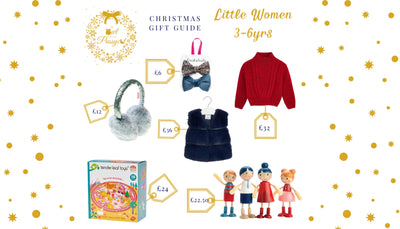 The Owl & The Pussycat Christmas Gift Guide - Gifts For Little Women 3-6 Years