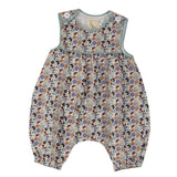 Organic cotton baby playsuit