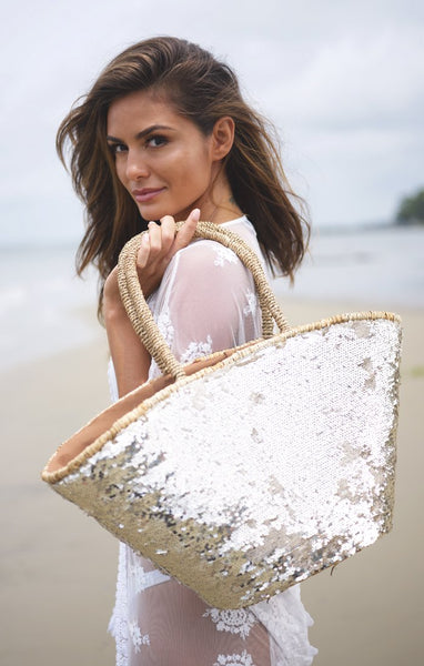 Pia Rossini beach bag