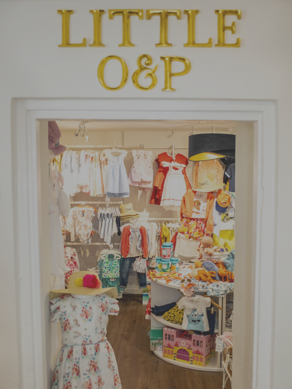 Little O&P Childrenswear boutique in Stockbridge