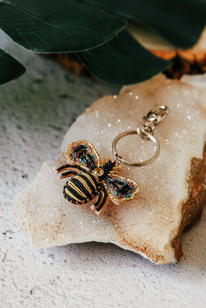 Bumble Bee Bag Charm