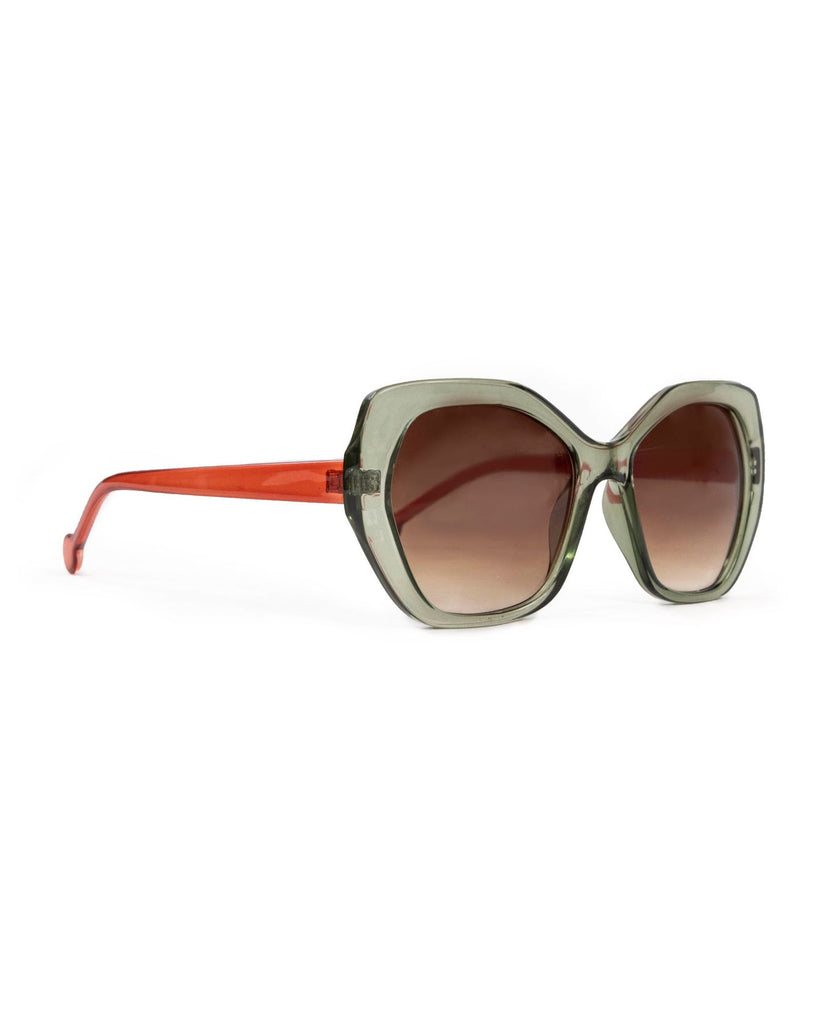 Olive Sunglasses From Powder