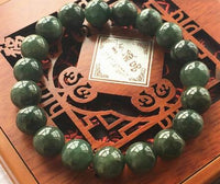 100% Natural Jade pulsera