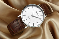 Reloj super slim caballero analogo