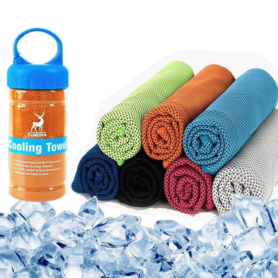 ORIGINAL ICE COOL TOWEL BUY 1 TAKE 2 FREE - FREE SHIPPING NOW!