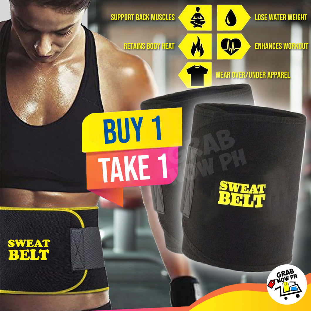 Original Sweat Belt Yellow Buy 1 Get 1 FREE today!