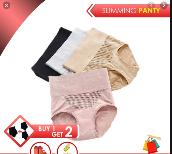 Slimming Panty BUY 1 GET 2 FREE - ASSORTED COLORS ! Free Shipping & Cash On Delivery Today!