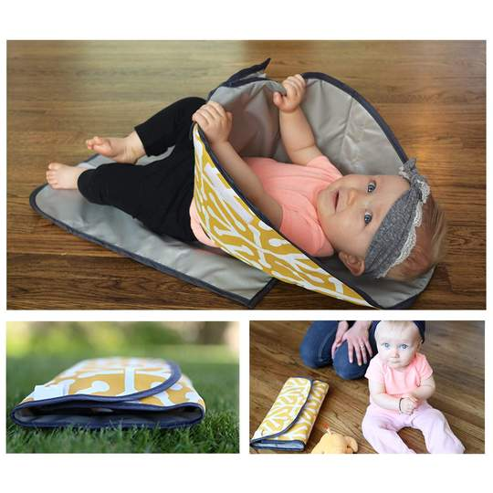3-in-1 Baby Changing Pad Mat 60% Off & Free Shipping Today!