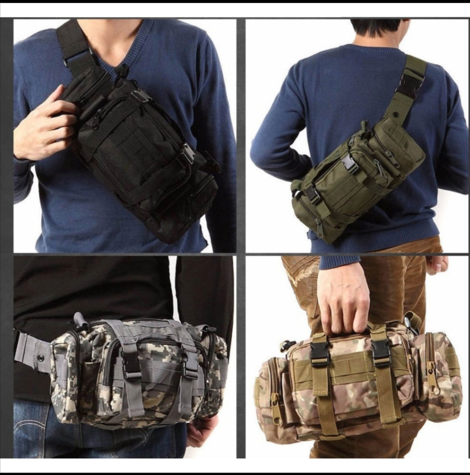 Waterproof Alpha 4in1 Military Tactical Bag - Free Shipping Today!